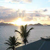 Sunset in St John Panoramic