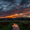 Sunset, Kingston Hill