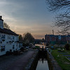 Sunset on the Trent & Mersey Canal, Stafford
