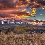 Sunset outside Telluride