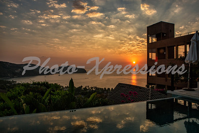 sunset over infinity pool_0360