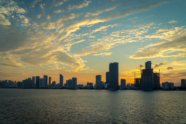 Sunset Miami