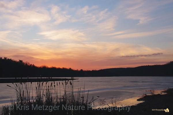 Sunset Sky Paint