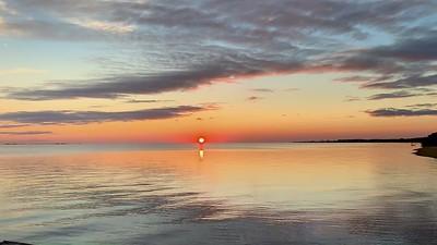 Sunset on Albermarle Sound
