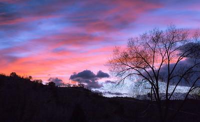 Canoncito Sunset