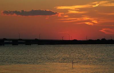 Sundown At Smith Point