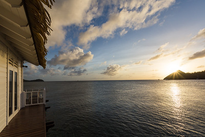 Overwater Chapel Sunset View