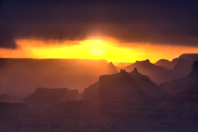 Grand Canyon Sunset - May 2018