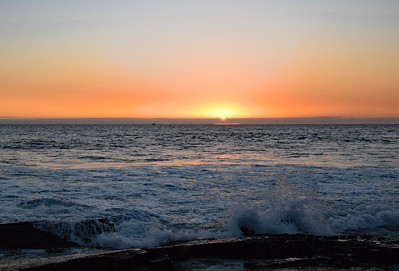 Sunset at Crystal Cove State Park