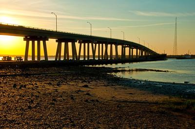 Sunsetting at the Bridge