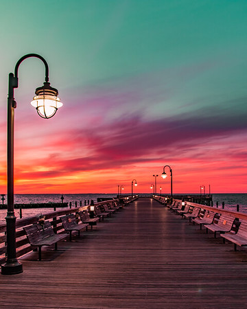 Painted Pier