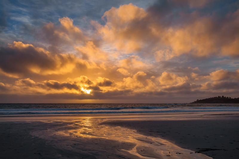 Carmel Beach Sunset 3