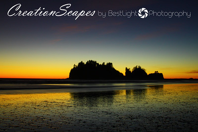 Sunset from La push WA