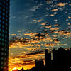 Sunrise over Fort Green Brooklyn
