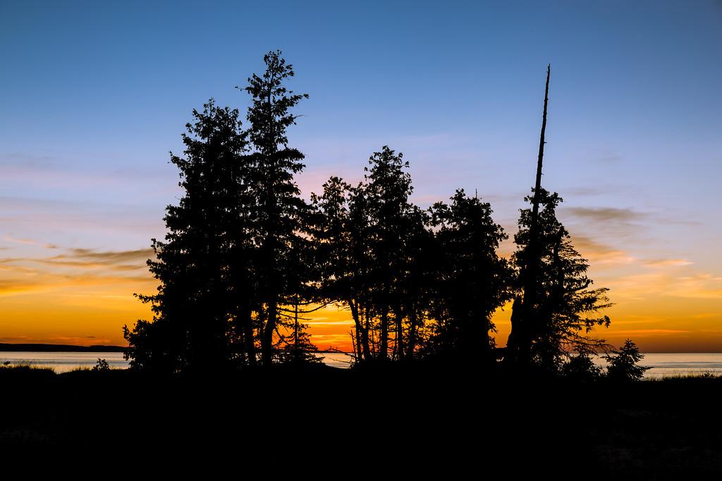 Sunset in Petoskey