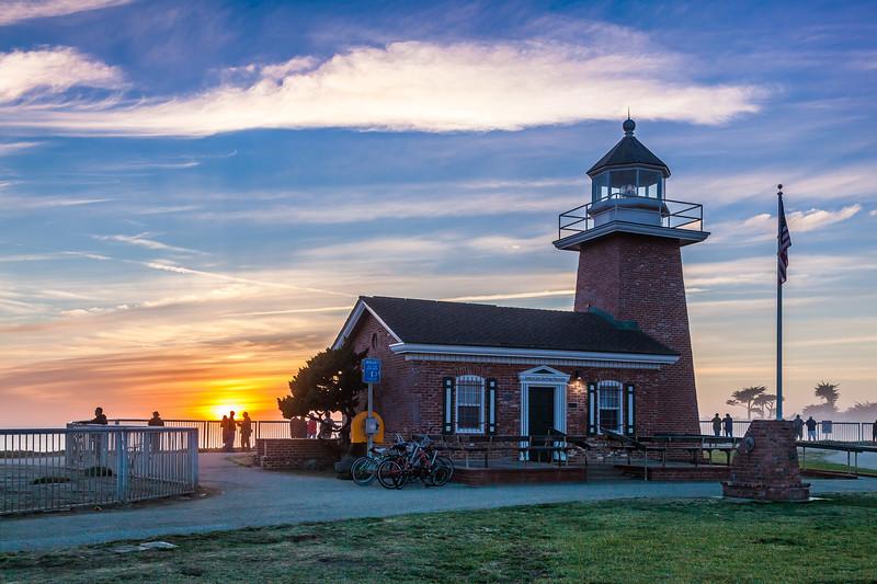 Mark Abbott Lighthouse Sunset
