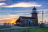 Mark Abbott Lighthouse Sunset
