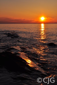 Sunset Over Lake Superior