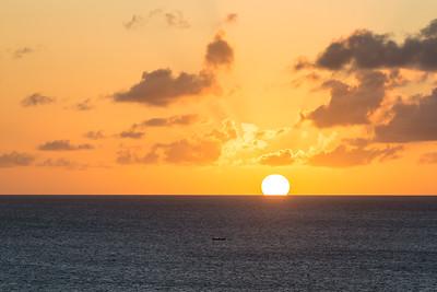 St Lucia Sundown