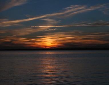 Shirley Beach Sunset