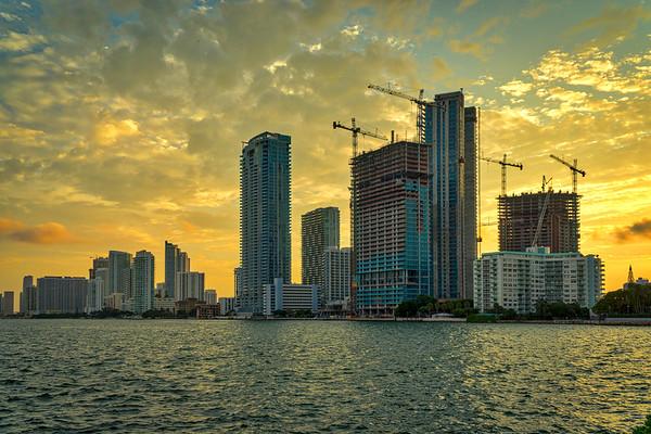Sunset Miami II
