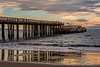 Seacliff Beach Pier Reflection 1
