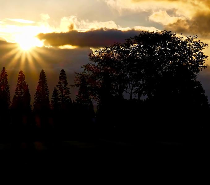Upcountry Sunset