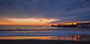 Seacliff Beach Sunset Panorama
