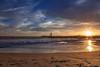 Twin Lakes Beach Sunset Reflections 8