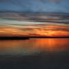 Rend lake sunset off interest 57