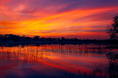 Lake Theresa Sunset in Deltona_Florida