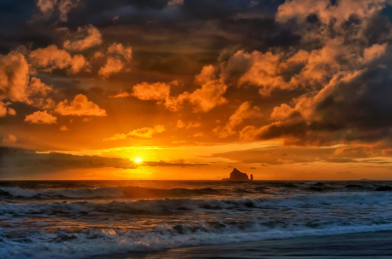 Realto Beach Sunset