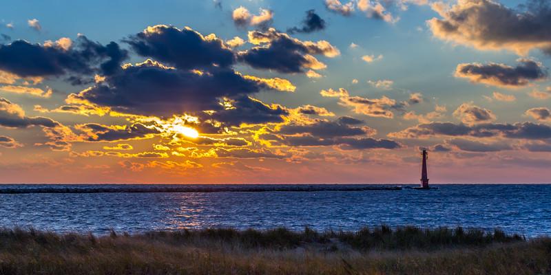 Gary's First Michigan Sunset