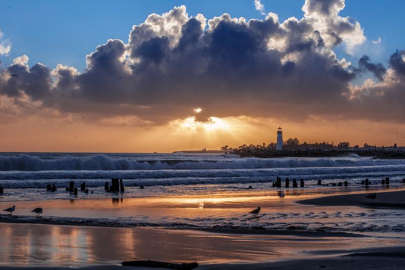 Twin Lakes Beach Sunset Reflections 3