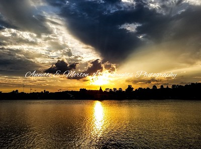 Sunsets, Lake Montebello, Baltimore MD