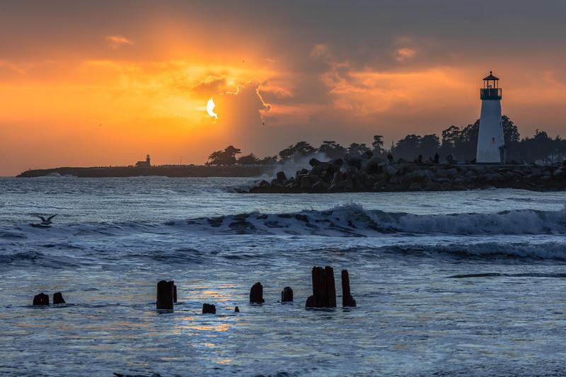 Twin Lakes Beach Sunset Reflections 13