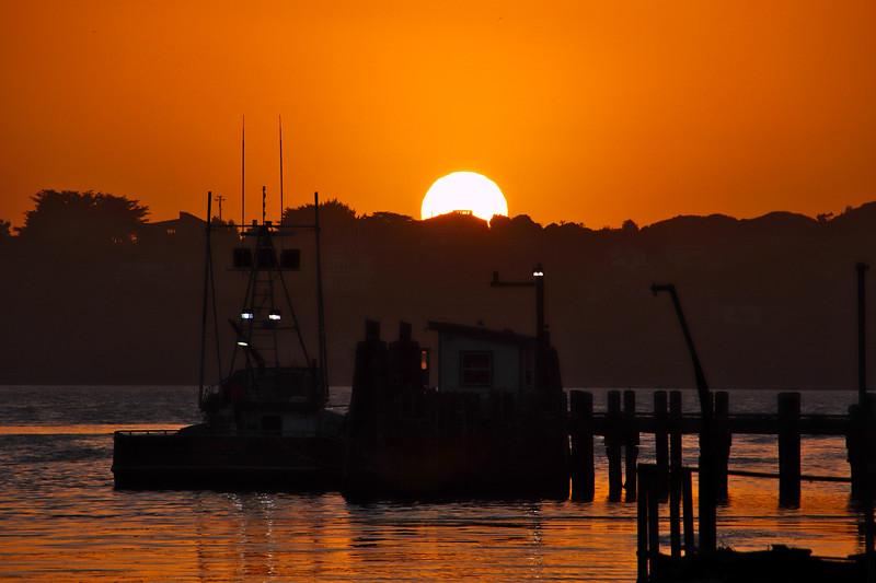 Sunset Bodega Bay