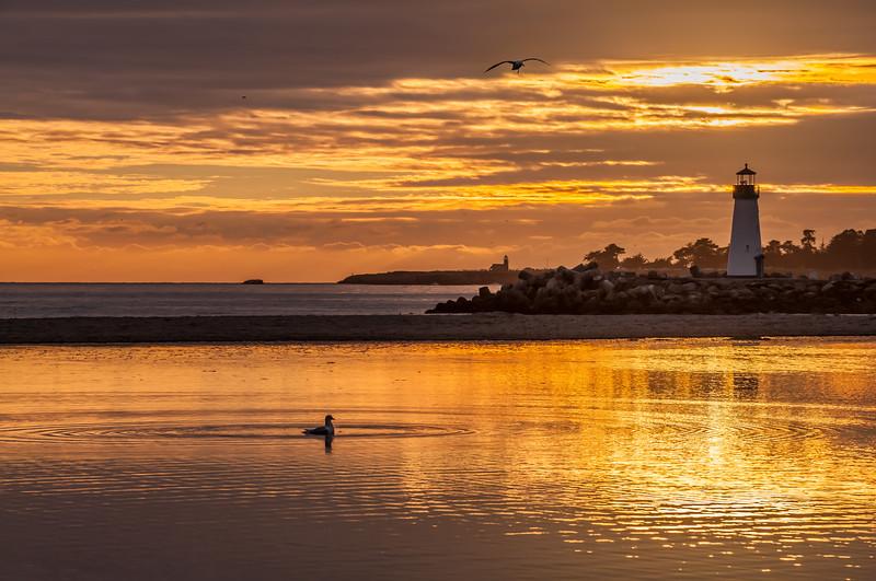 Twin Lakes Beach Sunset Reflections 10