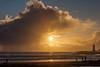 Twin Lakes Beach Sunset Reflections 11