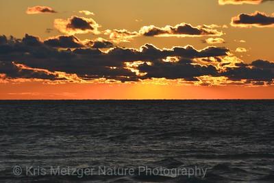Erie Golden Golden Sunset