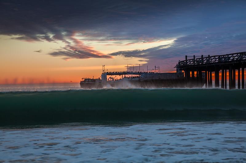 Seacliff Beach Breaking Wave