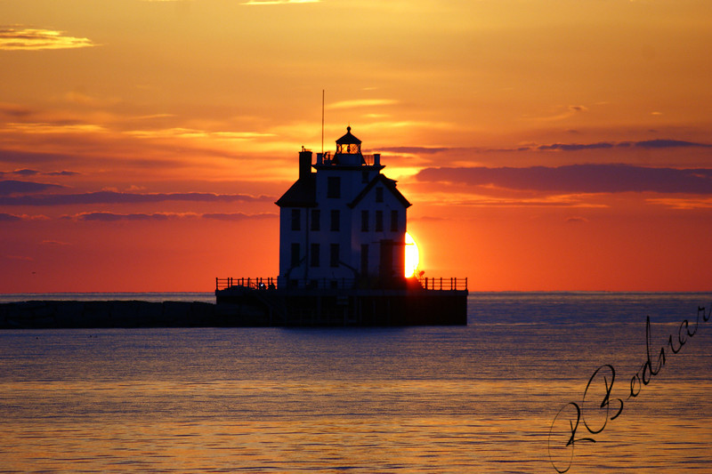 Photo By Robert Bodnar................................Lorain Sunset