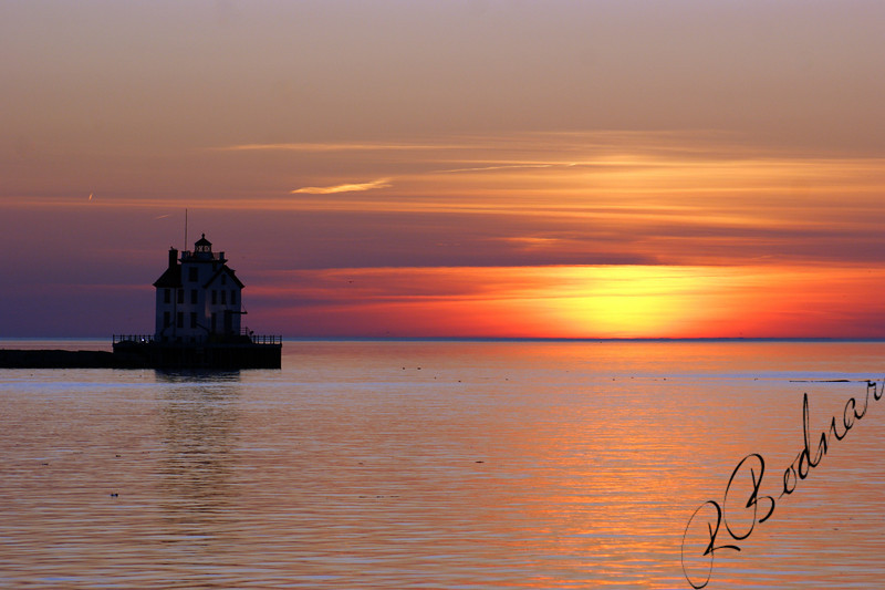 Photo By Robert Bodnar.........................................Lorain harbor