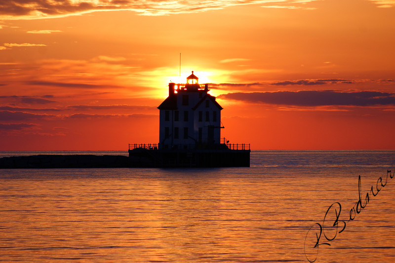 Photo By Robert Bodnar...................................Lorain Lighthouse