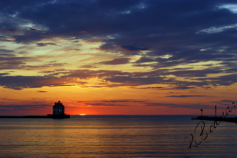 Photo By Robert Bodnar....................................Lorain Harbor
