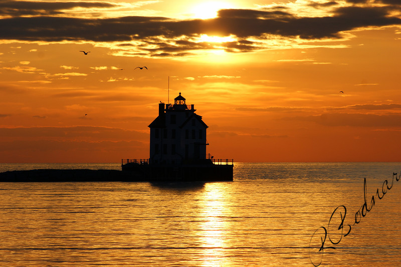 Photo By Robert Bodnar.....................................lorain Lighthouse
