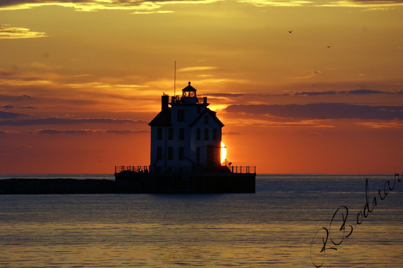 Photo By Robert Bodnar.......................................Lorain Harbor