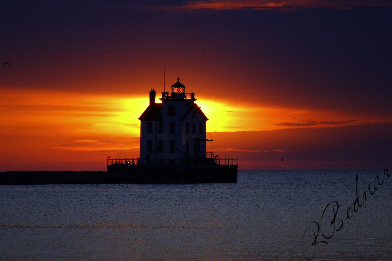 Photo By Robert Bodnar...................................Lorain Harbor