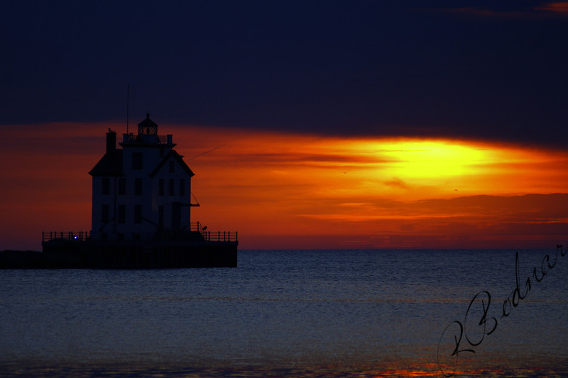 Photo By Robert Bodnar........................................Lorain Harbor