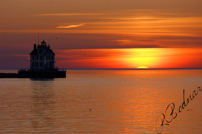 Photo By Robert Bodnar.......................................Lorain Sunset